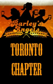 Old logo for the Toronto Chapter of Barley's Angels